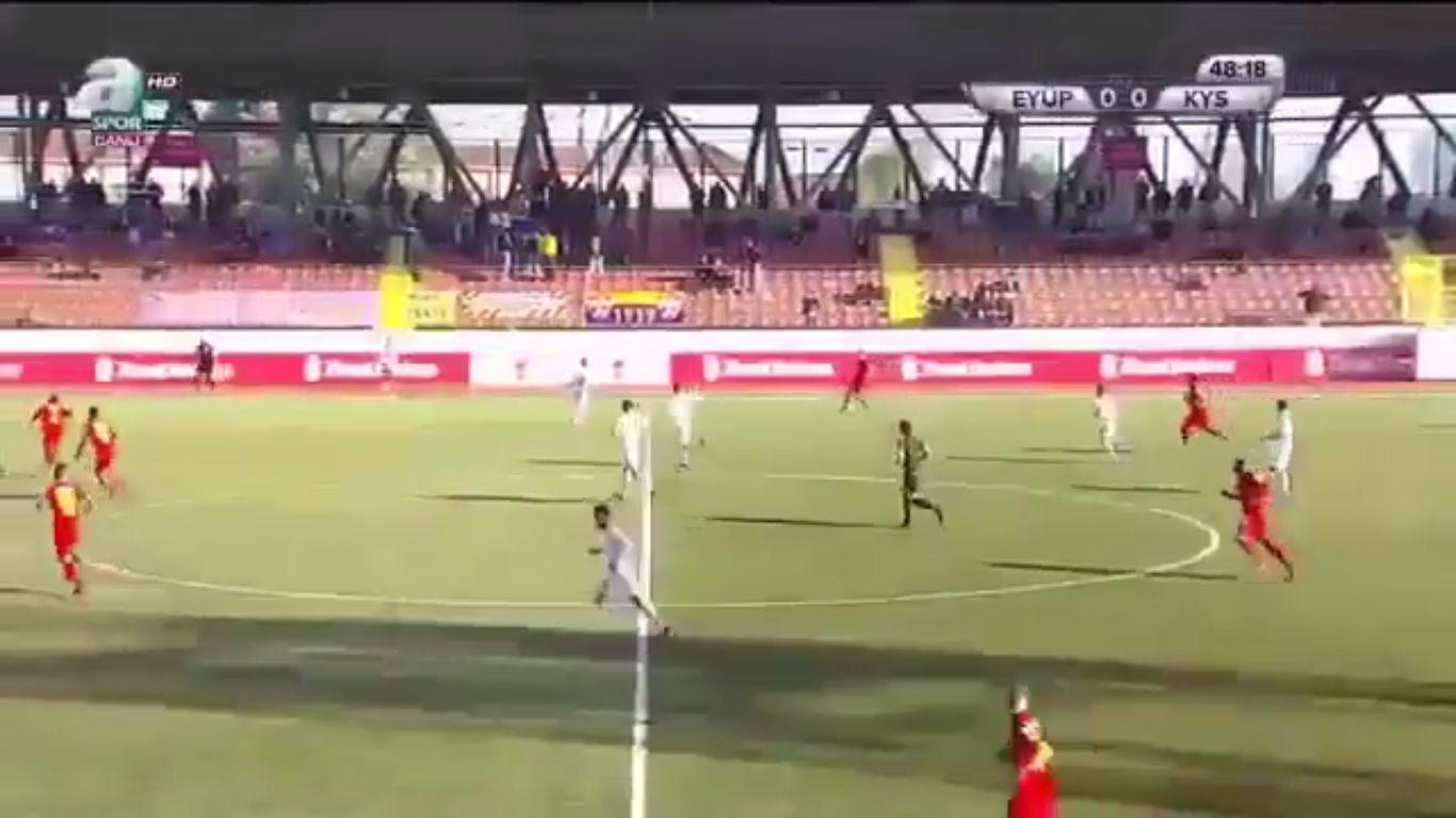 Eyupspor 0-2 Kayserispor (ZIRAAT CUP)