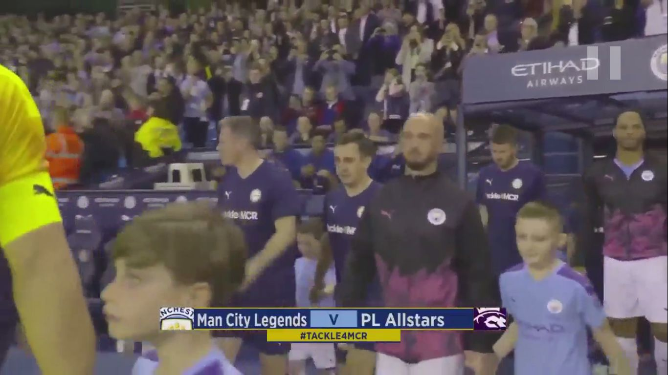 13-09-2019 - Manchester City 2-2 Premier League All Stars (FRIENDLY)