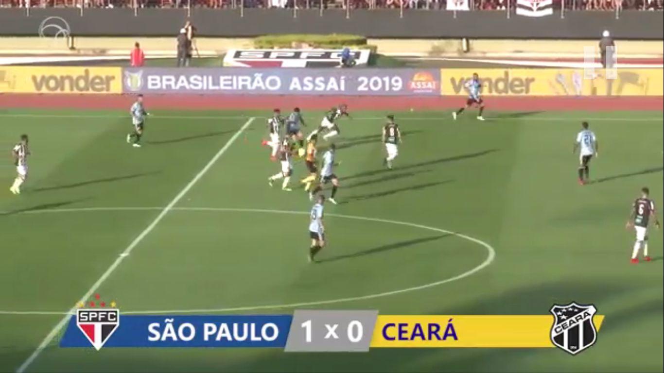 19-08-2019 - Sao Paulo 1-0 Ceara