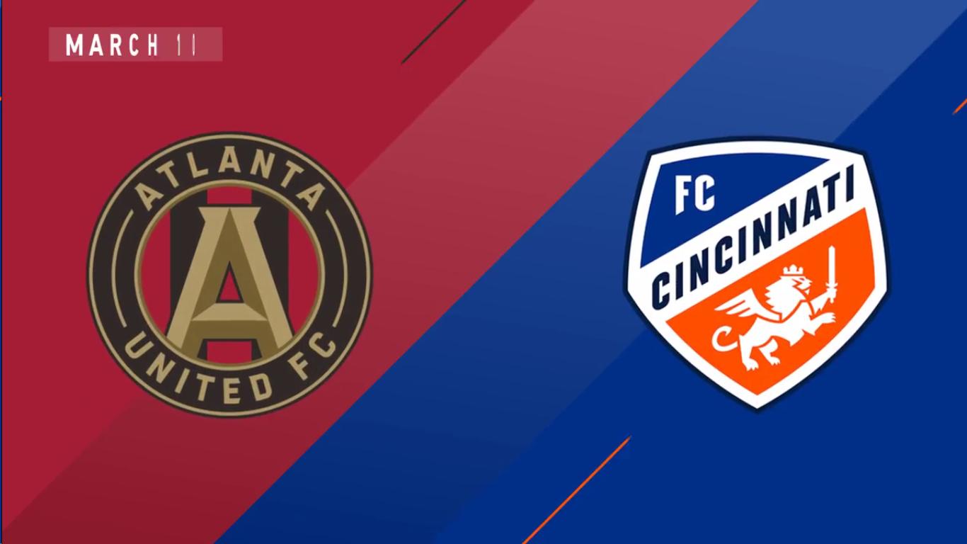 11-03-2019 - Atlanta United Fc 1-1 FC Cincinnati