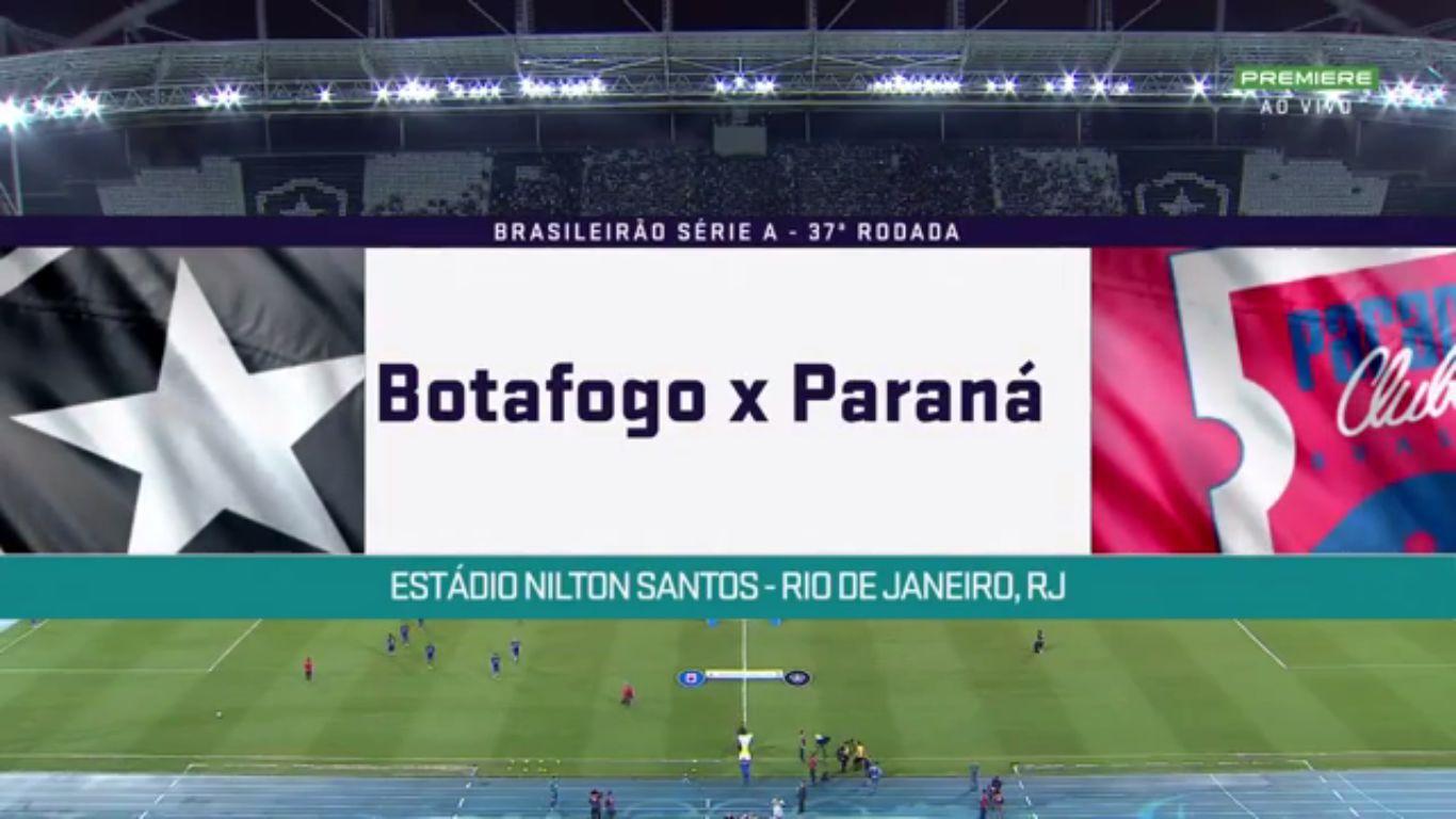27-11-2018 - Botafogo RJ 2-1 Parana Clube