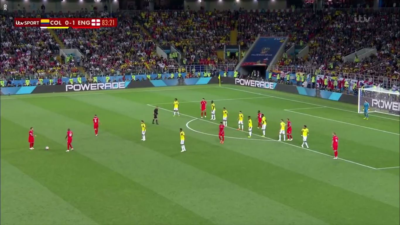 03-07-2018 - Colombia 1-1 (3-4 PEN.) England (WORLD CUP 2018)