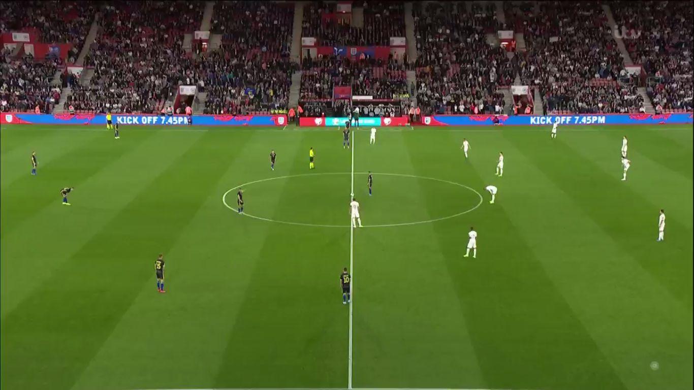 10-09-2019 - England 5-3 Kosovo (EURO QUALIF.)