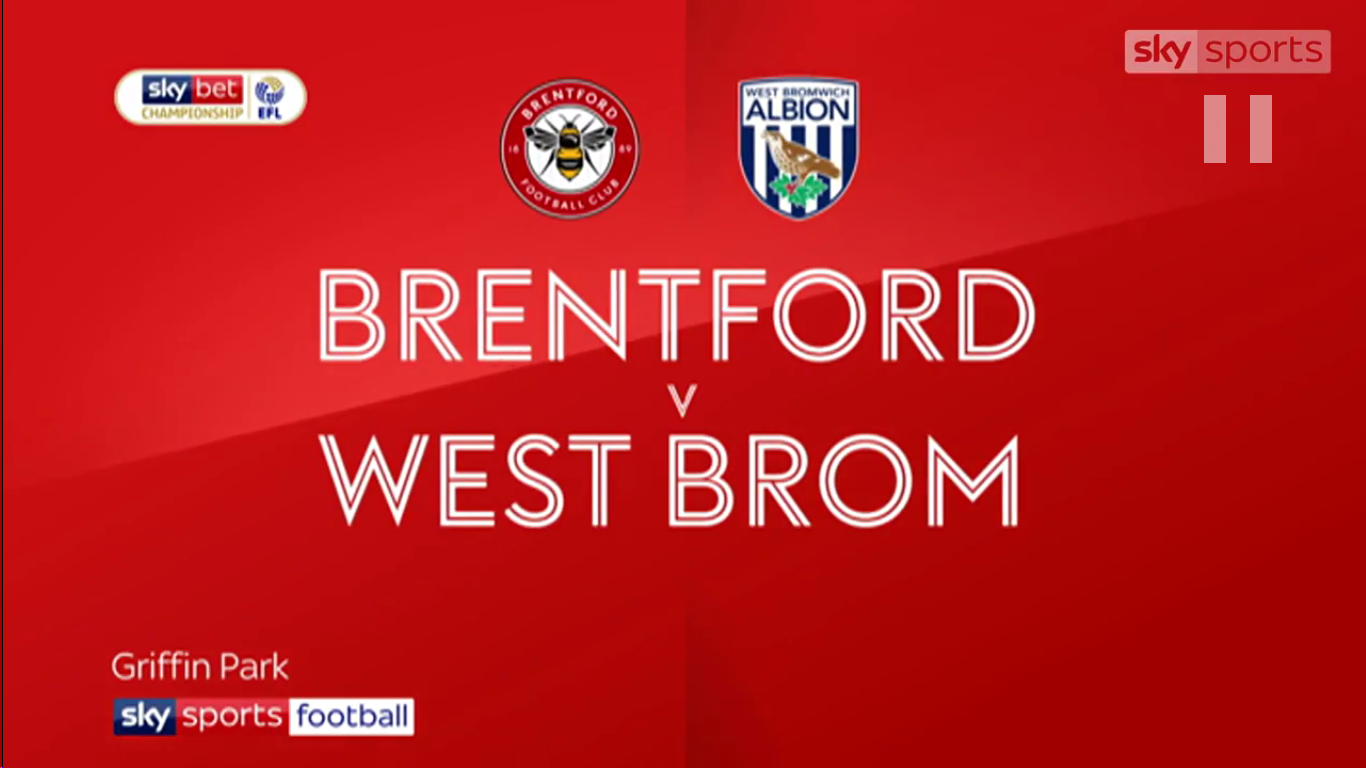 16-03-2019 - Brentford 0-1 West Bromwich Albion (CHAMPIONSHIP)
