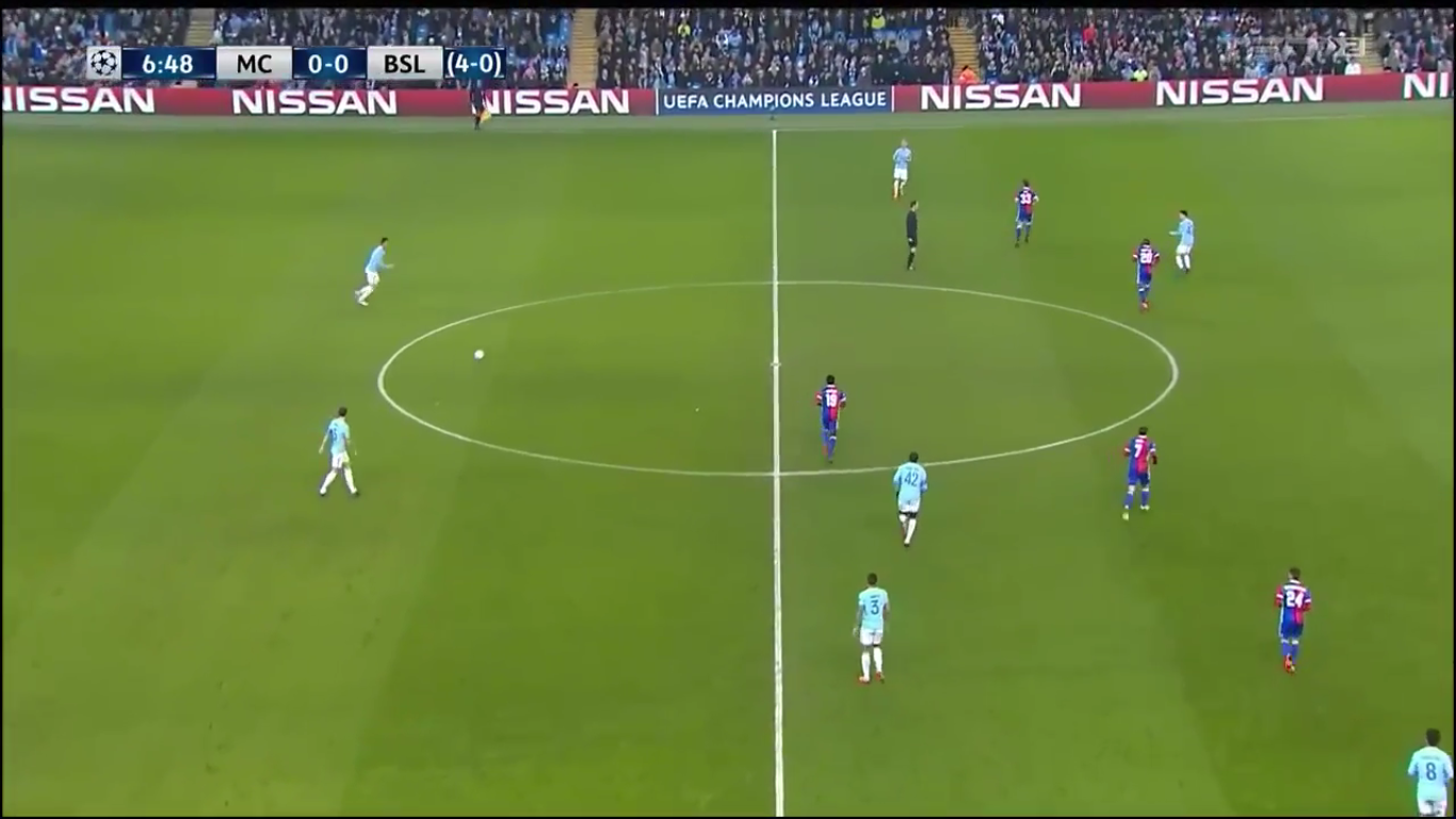 07-03-2018 - Manchester City 1-2 Basel (CHAMPIONS LEAGUE)
