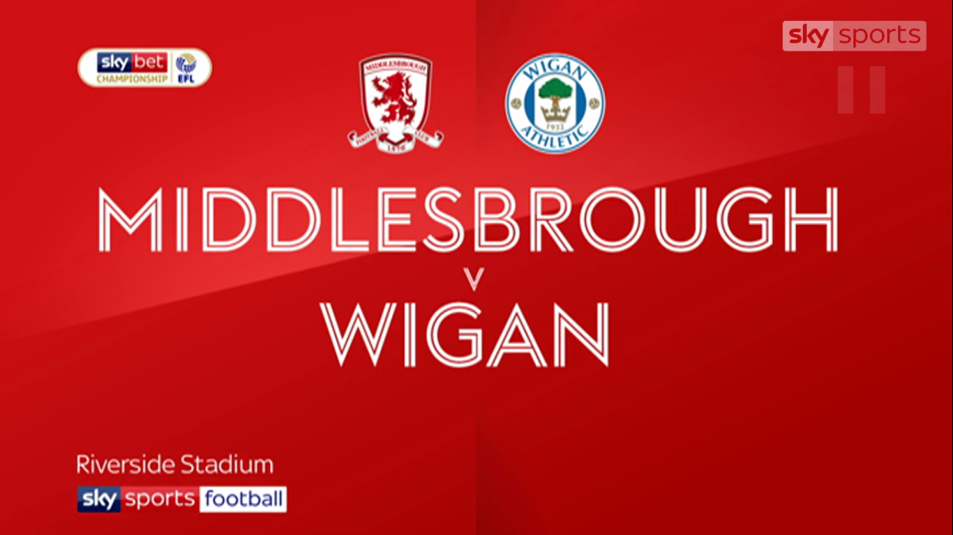 20-08-2019 - Middlesbrough 1-0 Wigan Athletic (CHAMPIONSHIP)