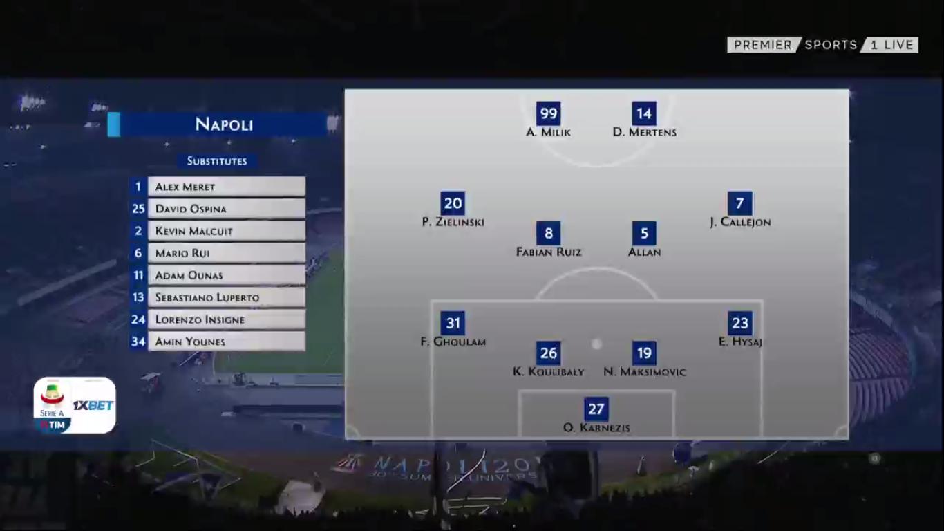 07-04-2019 - Napoli 1-1 Genoa
