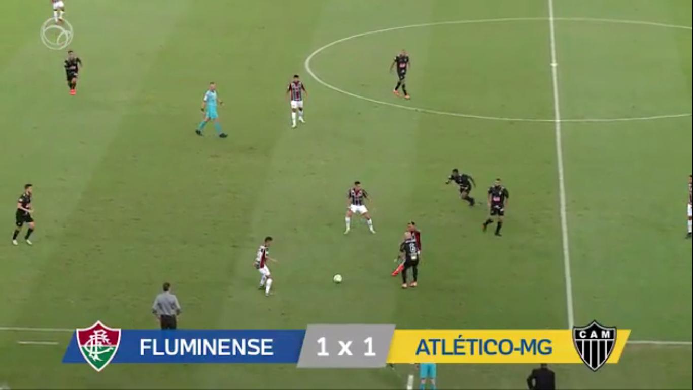 17-11-2019 - Fluminense FC RJ 1-1 Atletico Mineiro MG