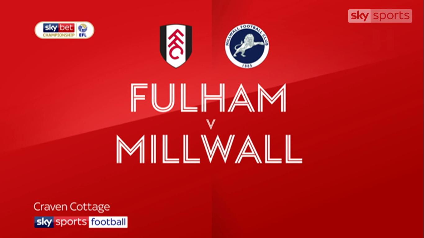 21-08-2019 - Fulham 4-0 Millwall (CHAMPIONSHIP)