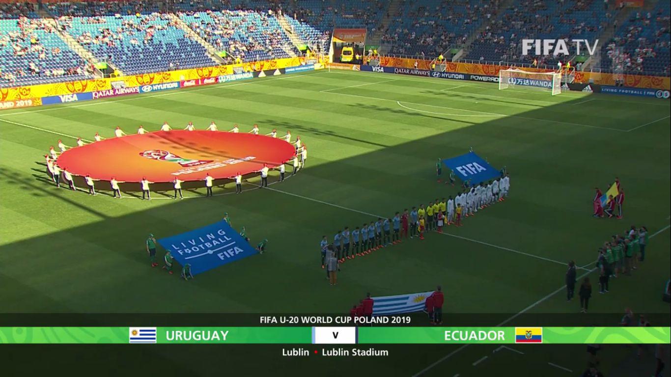 03-06-2019 - Uruguay U20 1-3 Ecuador U20 (WORLD CUP U20)