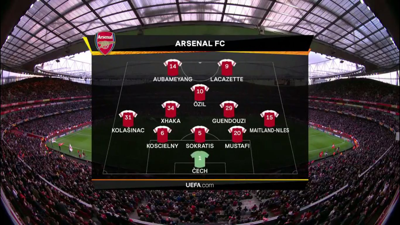 02-05-2019 - Arsenal 3-1 Valencia (EUROPA LEAGUE)