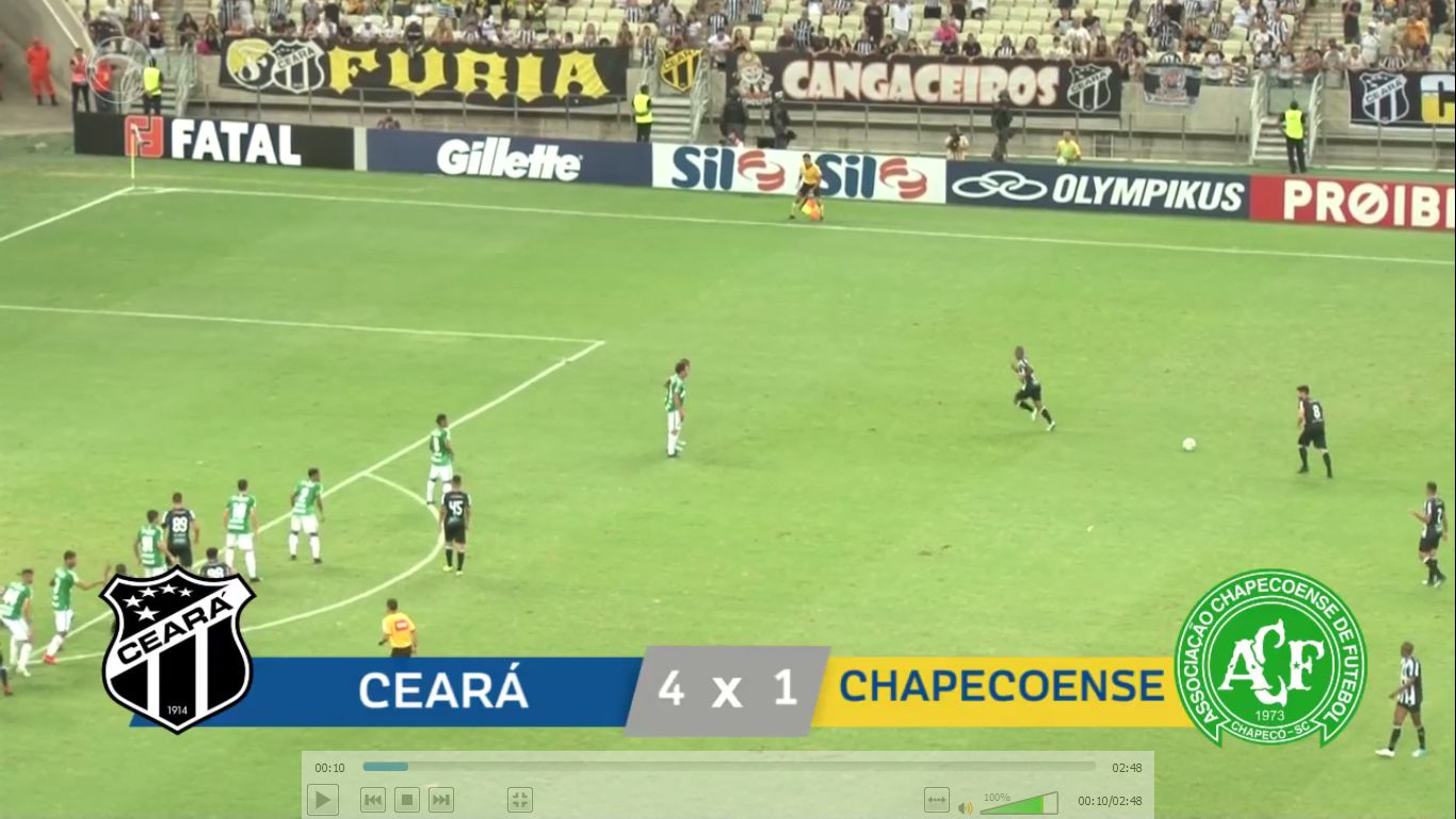 12-08-2019 - Ceara 4-1 Chapecoense AF