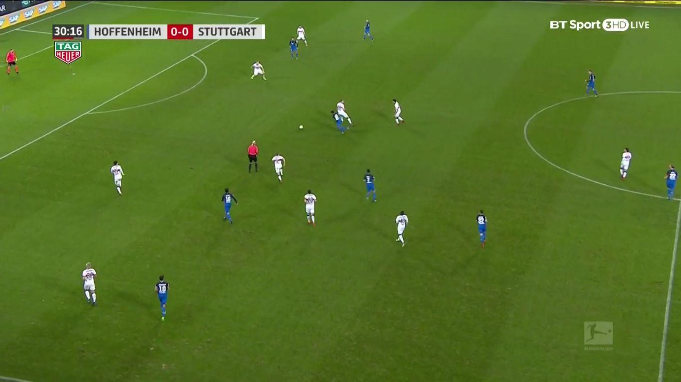 Hoffenheim 1-0 VfB Stuttgart