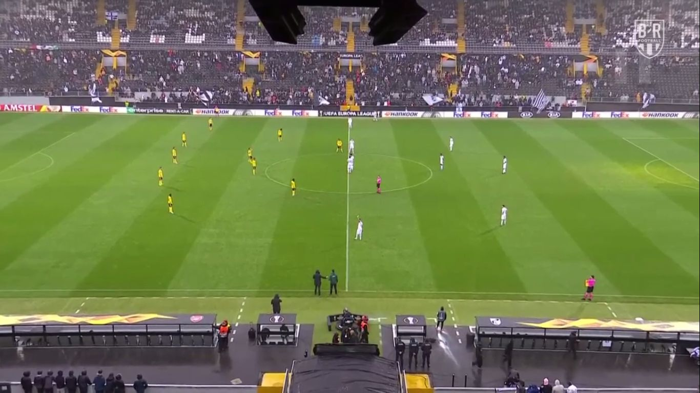 06-11-2019 - Vitoria de Guimaraes 1-1 Arsenal (EUROPA LEAGUE)
