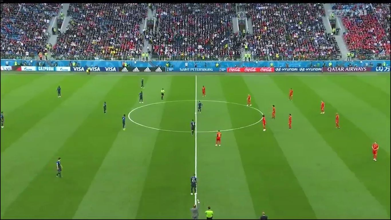 10-07-2018 - France 1-0 Belgium (WORLD CUP 2018 - SEMI FINAL)
