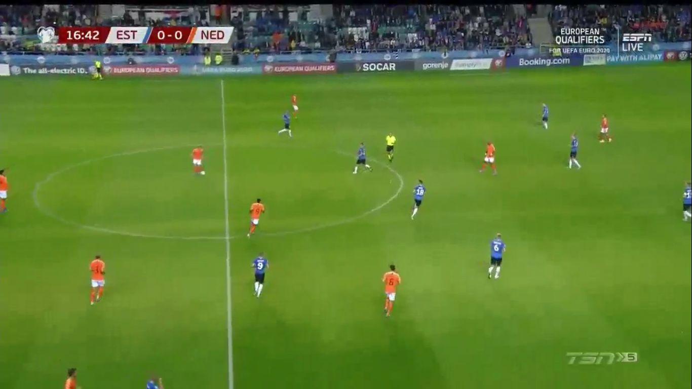 09-09-2019 - Estonia 0-4 Netherlands (EURO QUALIF.)