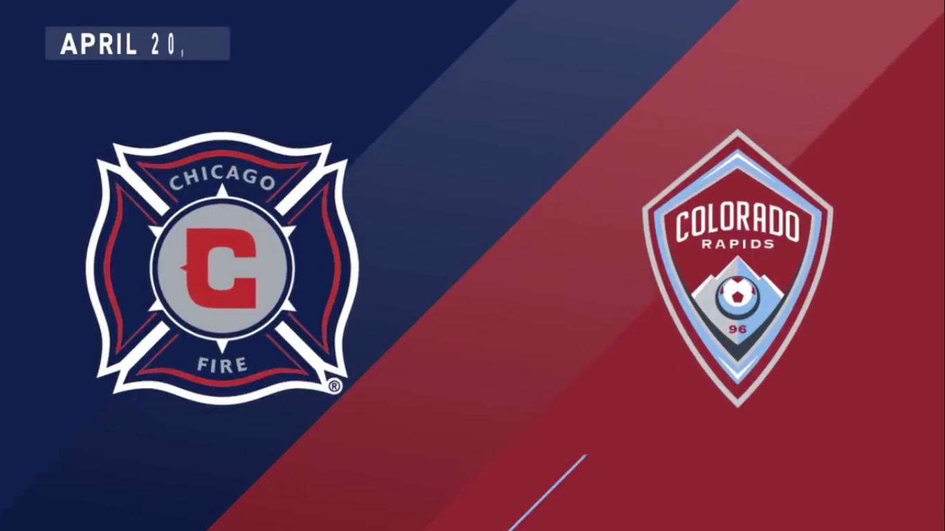 21-04-2019 - Chicago Fire 4-1 Colorado Rapids
