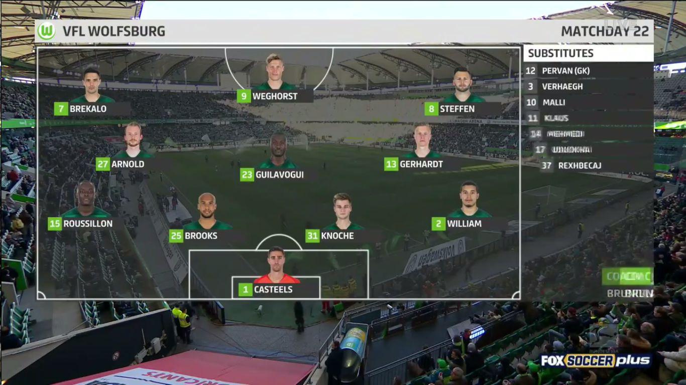 16-02-2019 - Wolfsburg 3-0 Mainz 05