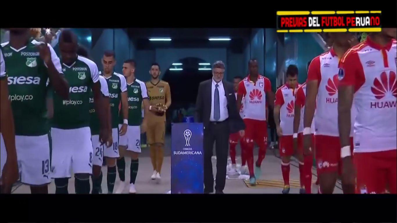 31-10-2018 - Deportivo Cali 1-2 Santa Fe (COPA SUDAMERICANA)