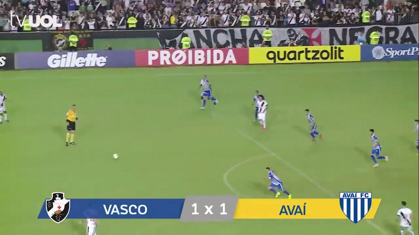 20-05-2019 - CR Vasco DA Gama RJ 1-1 Avai FC SC