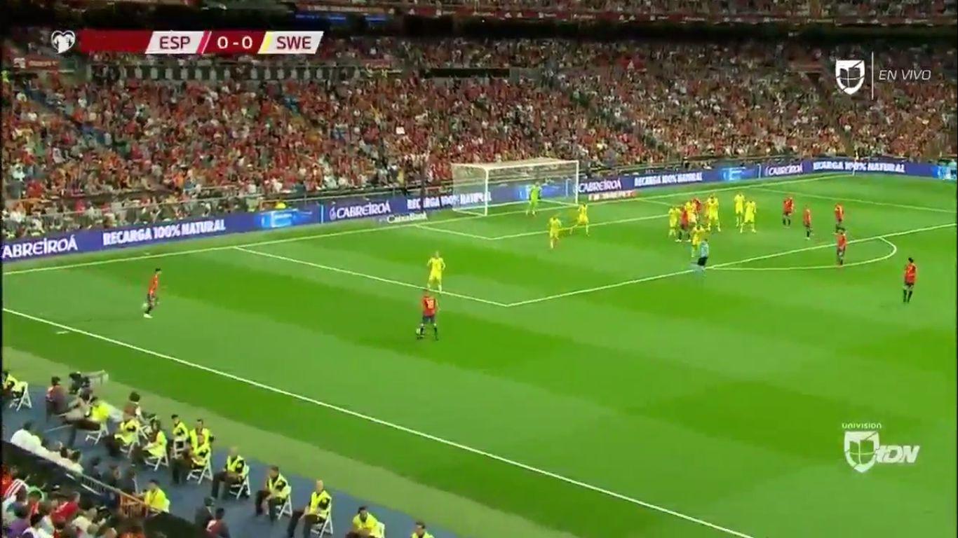 10-06-2019 - Spain 3-0 Sweden (EURO QUALIF.)