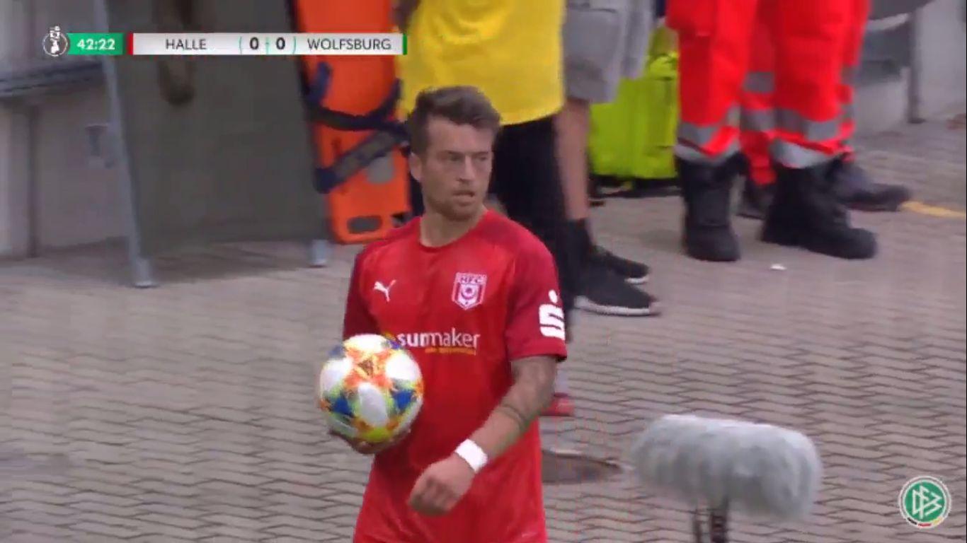 12-08-2019 - Hallescher FC 3-5 Wolfsburg (DFB POKAL)