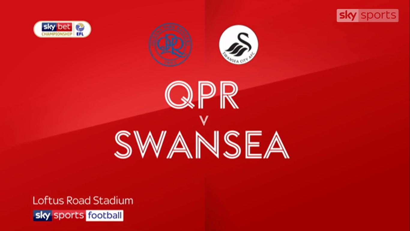 13-04-2019 - Queens Park Rangers 4-0 Swansea City (CHAMPIONSHIP)