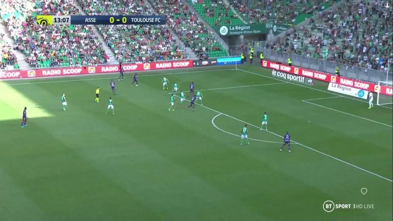 15-09-2019 - Saint-Etienne 2-2 Toulouse