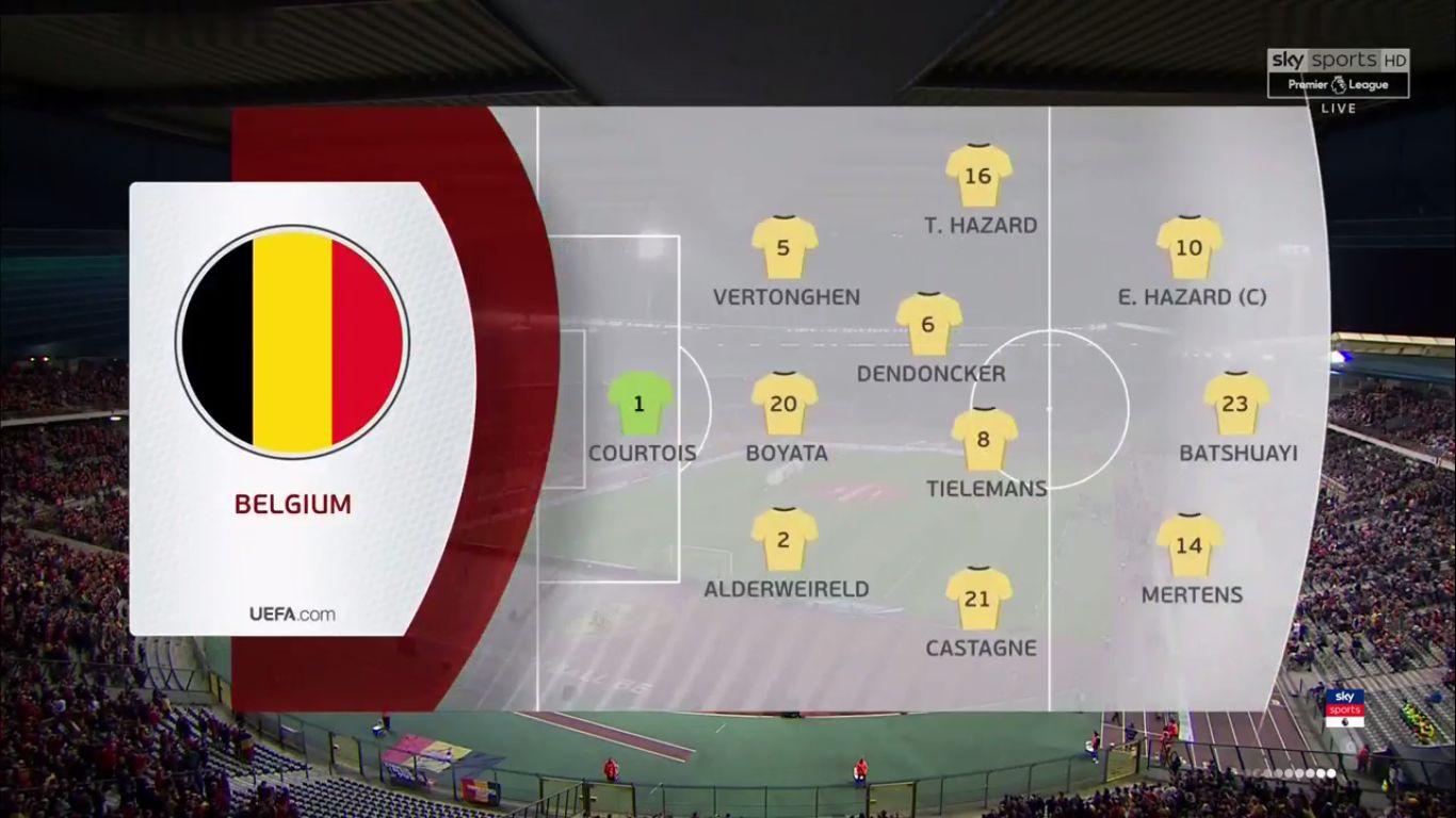 21-03-2019 - Belgium 3-1 Russia (EURO QUALIF.)