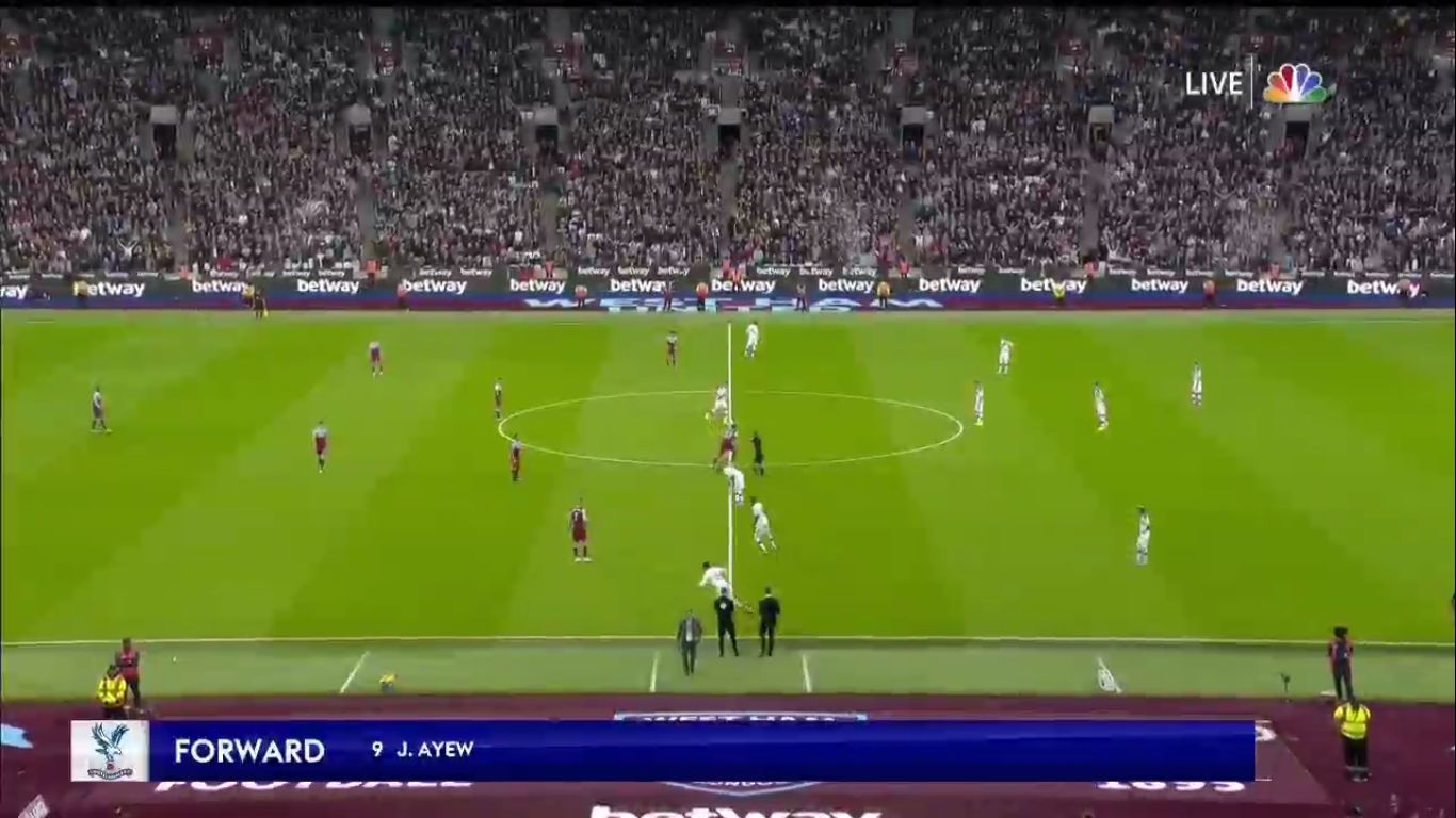 05-10-2019 - West Ham United 1-2 Crystal Palace