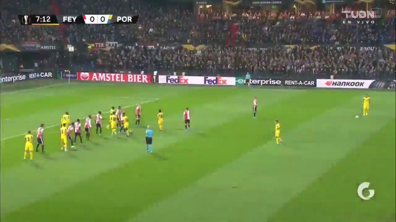 03-10-2019 - Feyenoord 2-0 FC Porto (EUROPA LEAGUE)