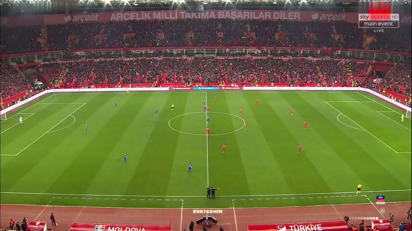 25-03-2019 - Turkey 4-0 Moldova (EURO QUALIF.)