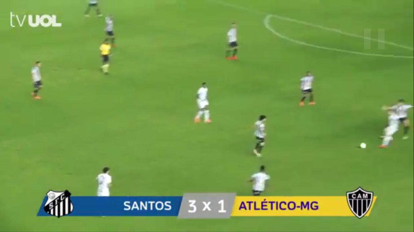 10-06-2019 - Santos FC SP 3-1 Atletico Mineiro MG