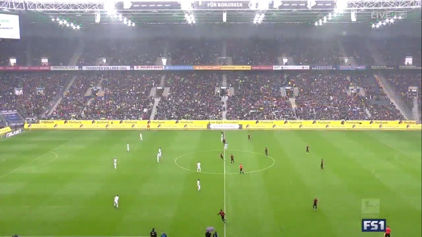 06-10-2019 - Borussia Monchengladbach 5-1 Augsburg