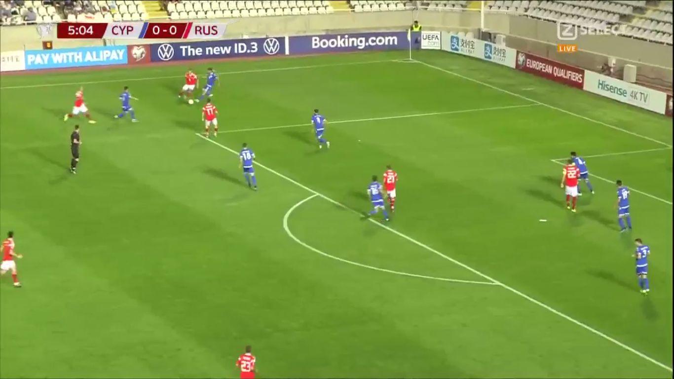 13-10-2019 - Cyprus 0-5 Russia (EURO QUALIF.)