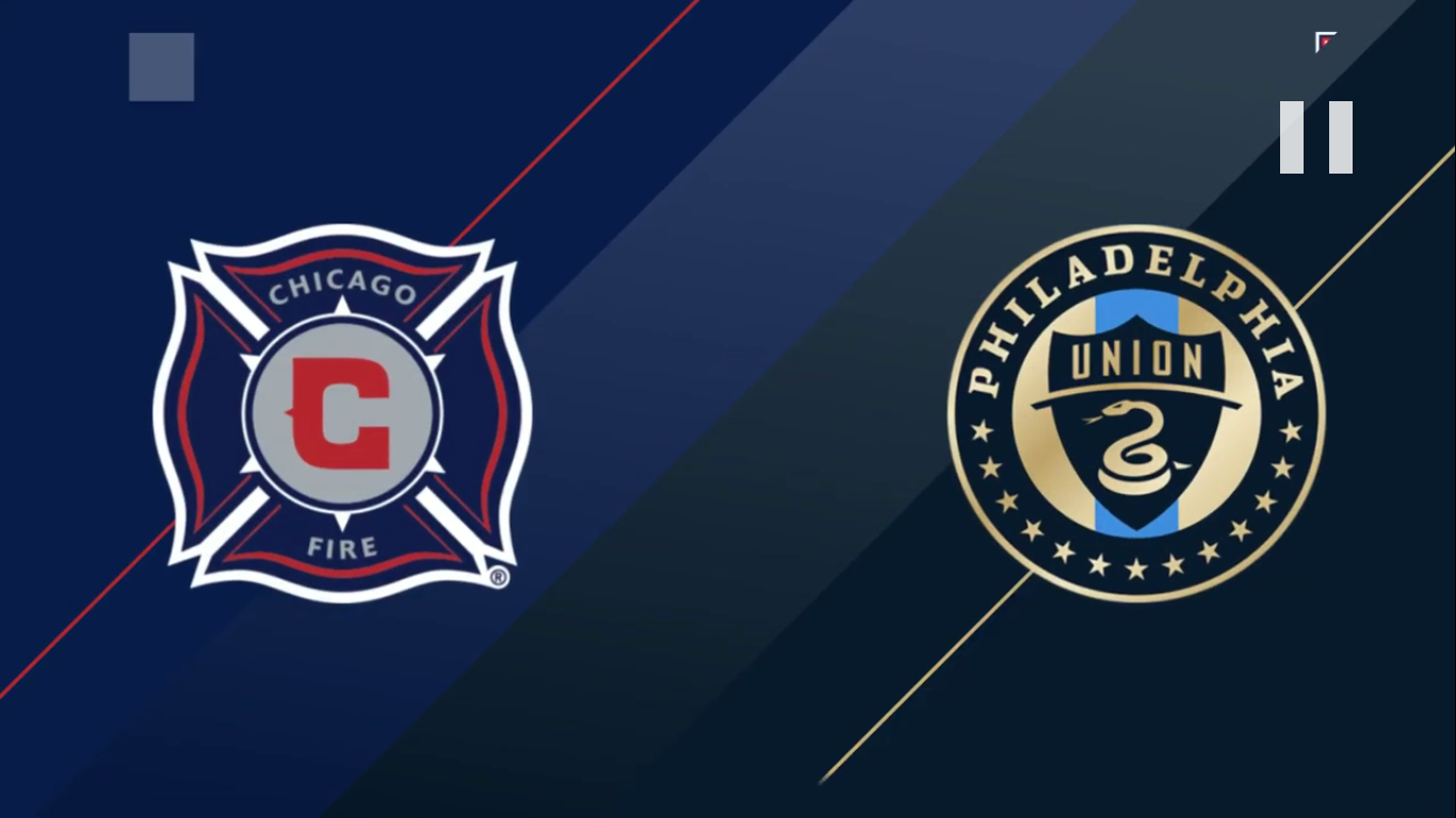 18-08-2019 - Chicago Fire 2-0 Philadelphia Union