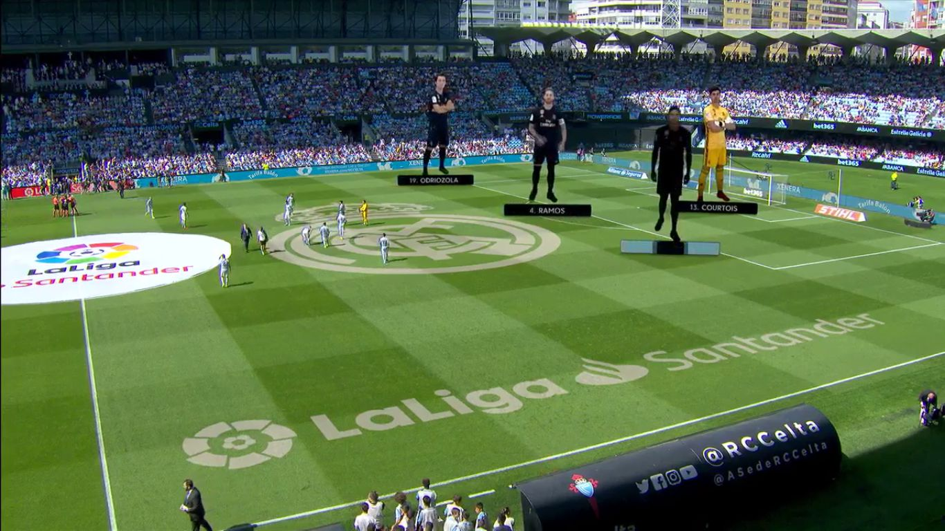 17-08-2019 - Celta Vigo 1-3 Real Madrid