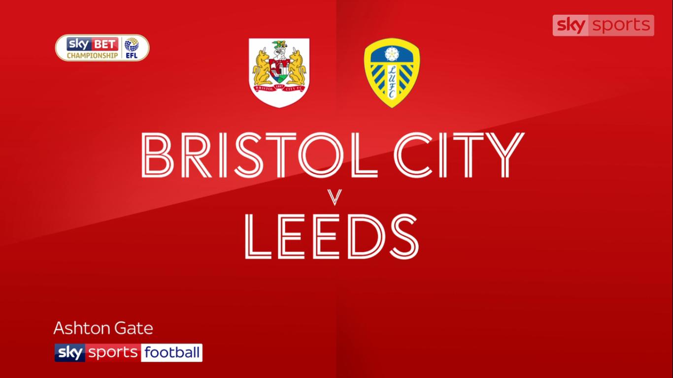 Bristol City 0-3 Leeds United (CHAMPIONSHIP)
