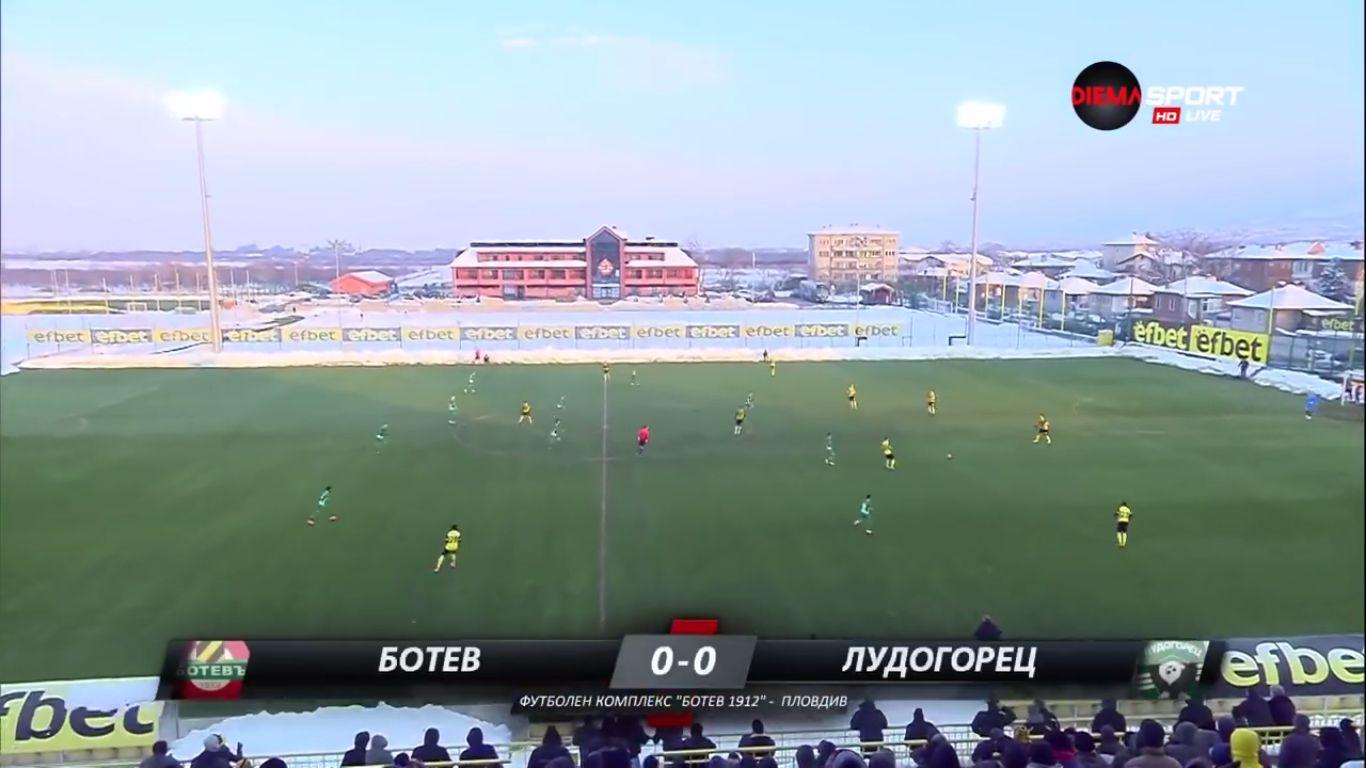 27-02-2018 - Botev Plovdiv 1-3 Ludogorets Razgrad