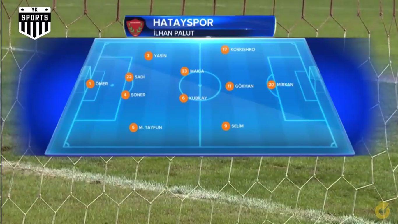 27-02-2019 - Hatayspor 4-2 Galatasaray (ZIRAAT CUP)