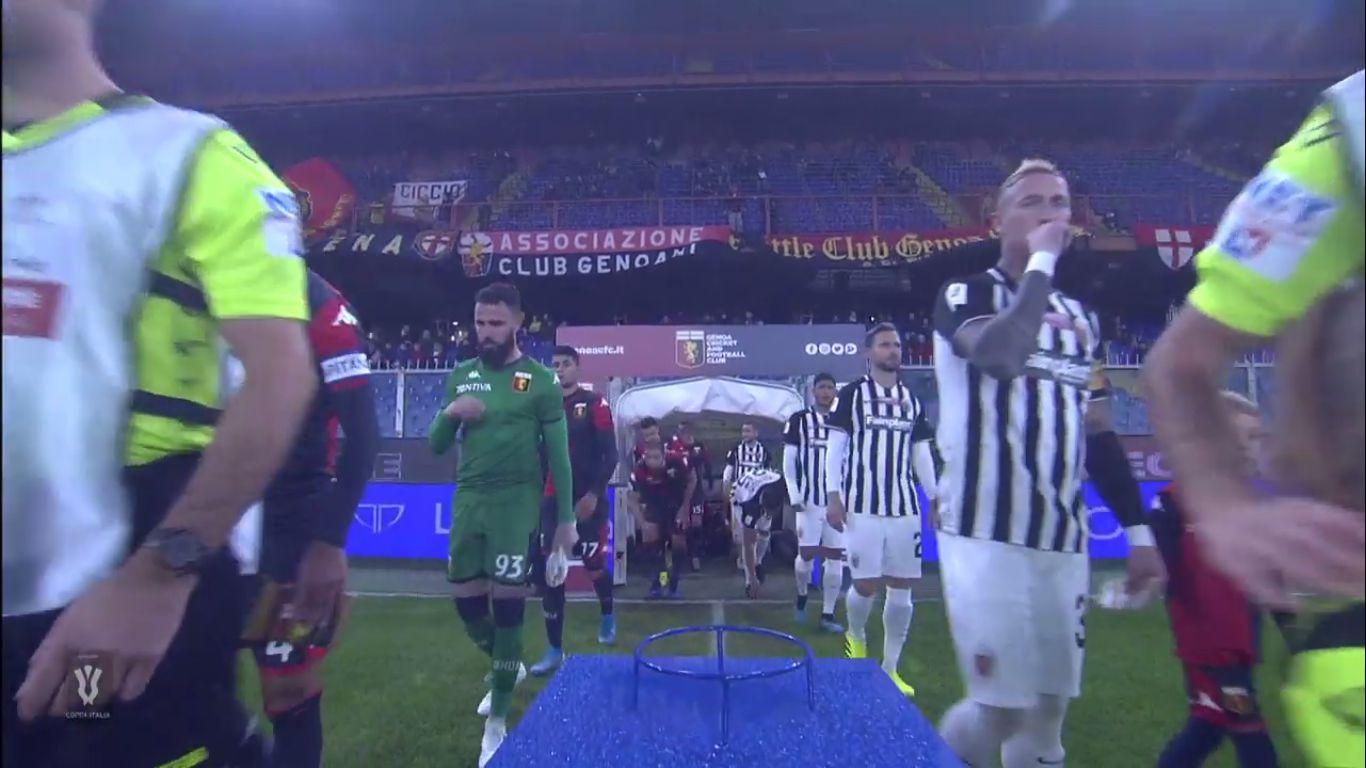 03-12-2019 - Genoa 3-2 Ascoli (COPPA ITALIA)
