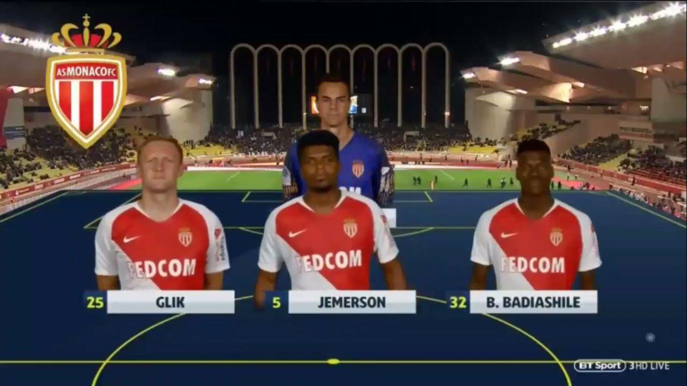 16-01-2019 - Monaco 1-1 Nice