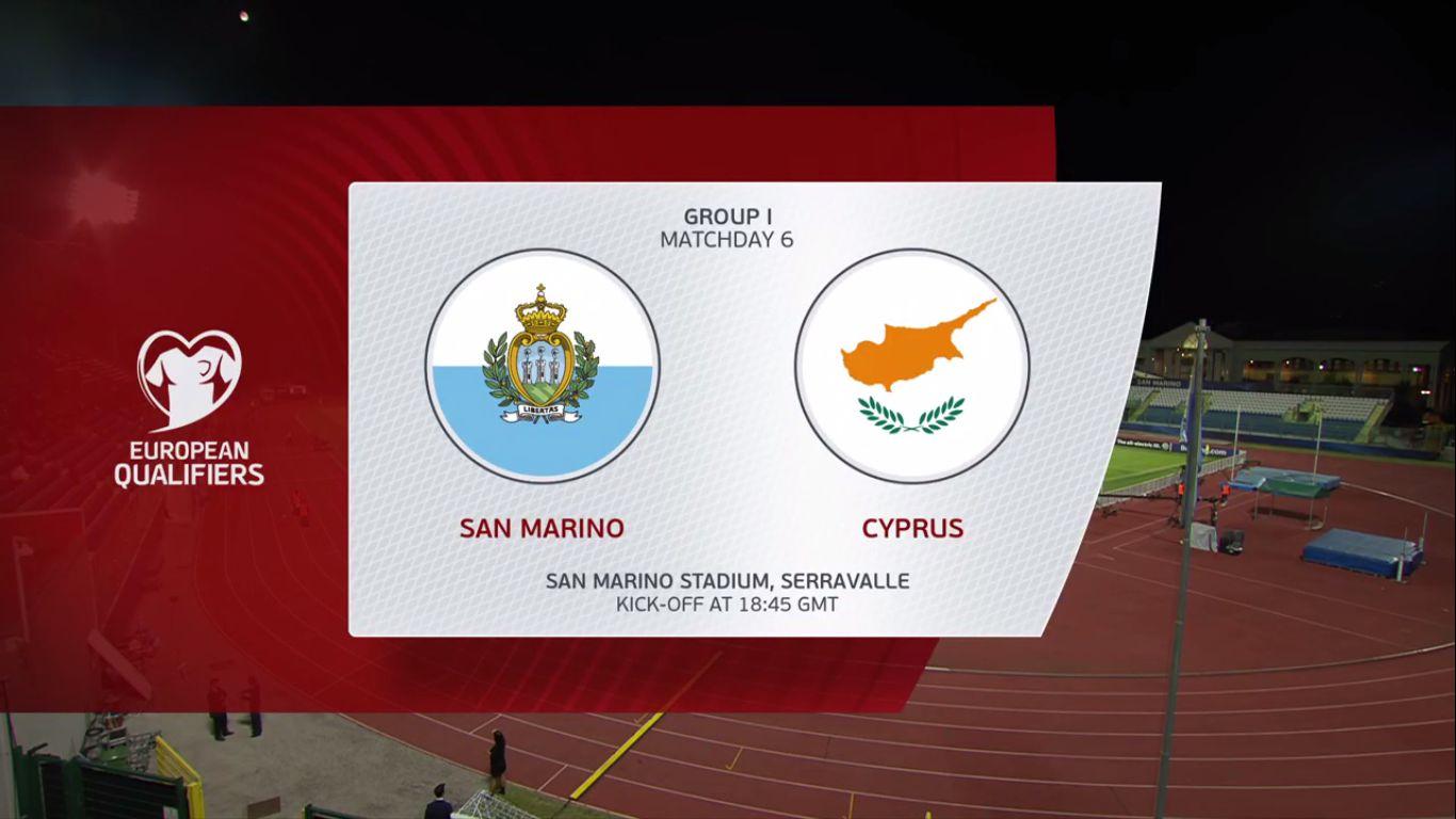 09-09-2019 - San Marino 0-4 Cyprus (EURO QUALIF.)