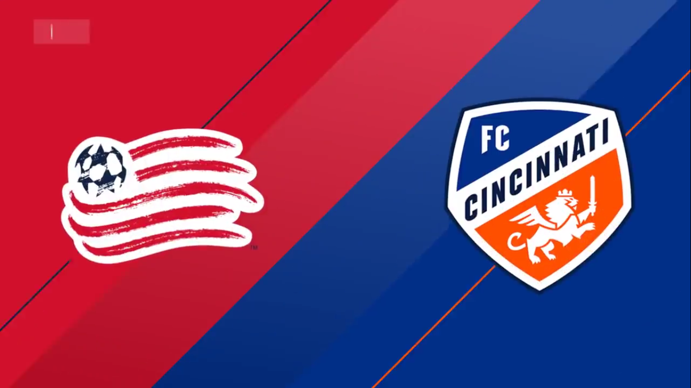 25-03-2019 - New England Rev. 0-2 FC Cincinnati