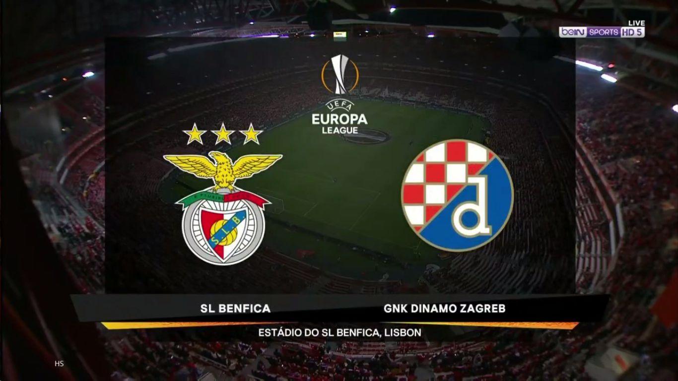 14-03-2019 - Benfica 3-0 Dinamo Zagreb (EUROPA LEAGUE)