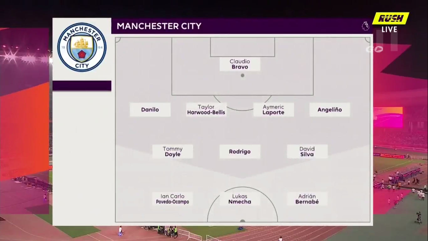 17-07-2019 - Manchester City 4-1 West Ham United (PREMIER LEAGUE ASIA TROPHY)