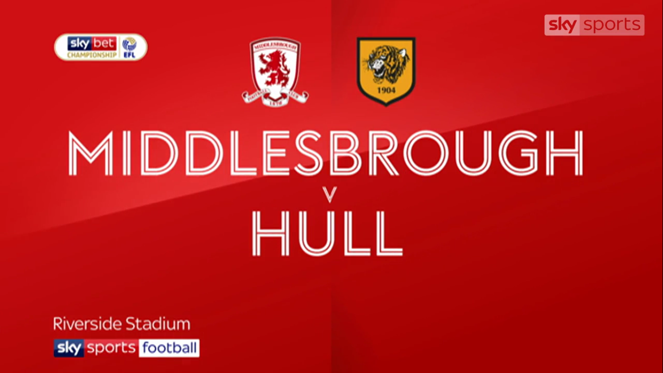13-04-2019 - Middlesbrough 1-0 Hull City (CHAMPIONSHIP)