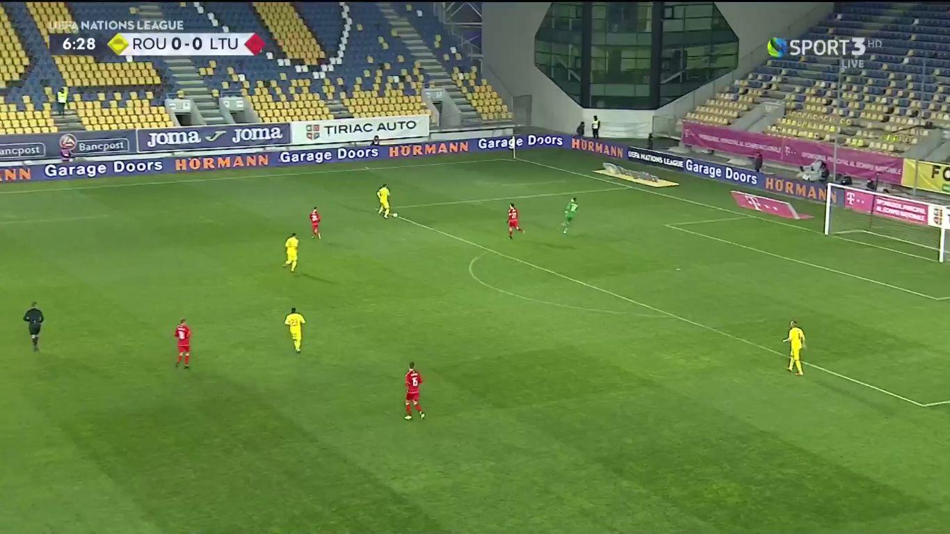 17-11-2018 - Romania 3-0 Lithuania (UEFA NATIONS LEAGUE)