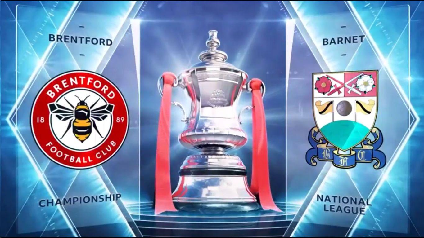 05-02-2019 - Brentford 3-1 Barnet (FA CUP)