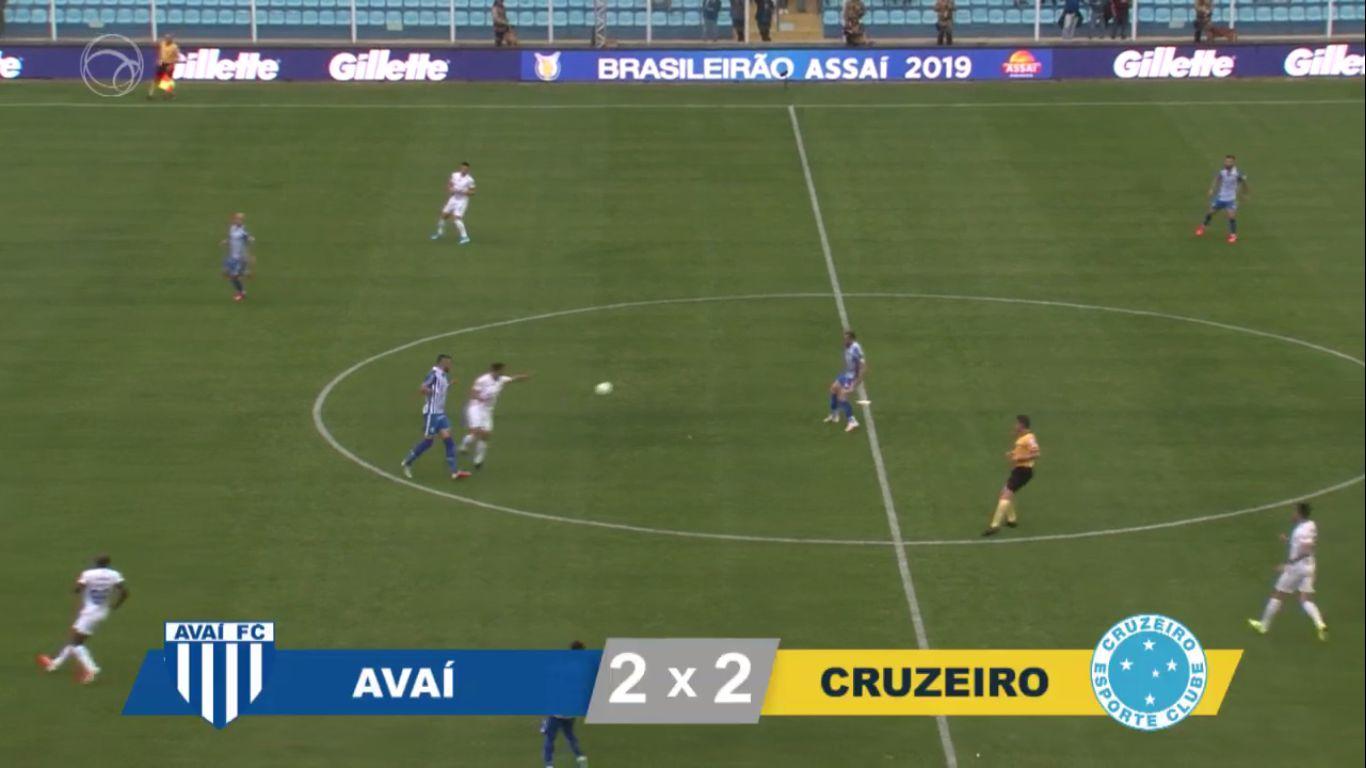 12-08-2019 - Avai FC SC 2-2 Cruzeiro